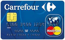 Cartão de crédito internacional Carrefour