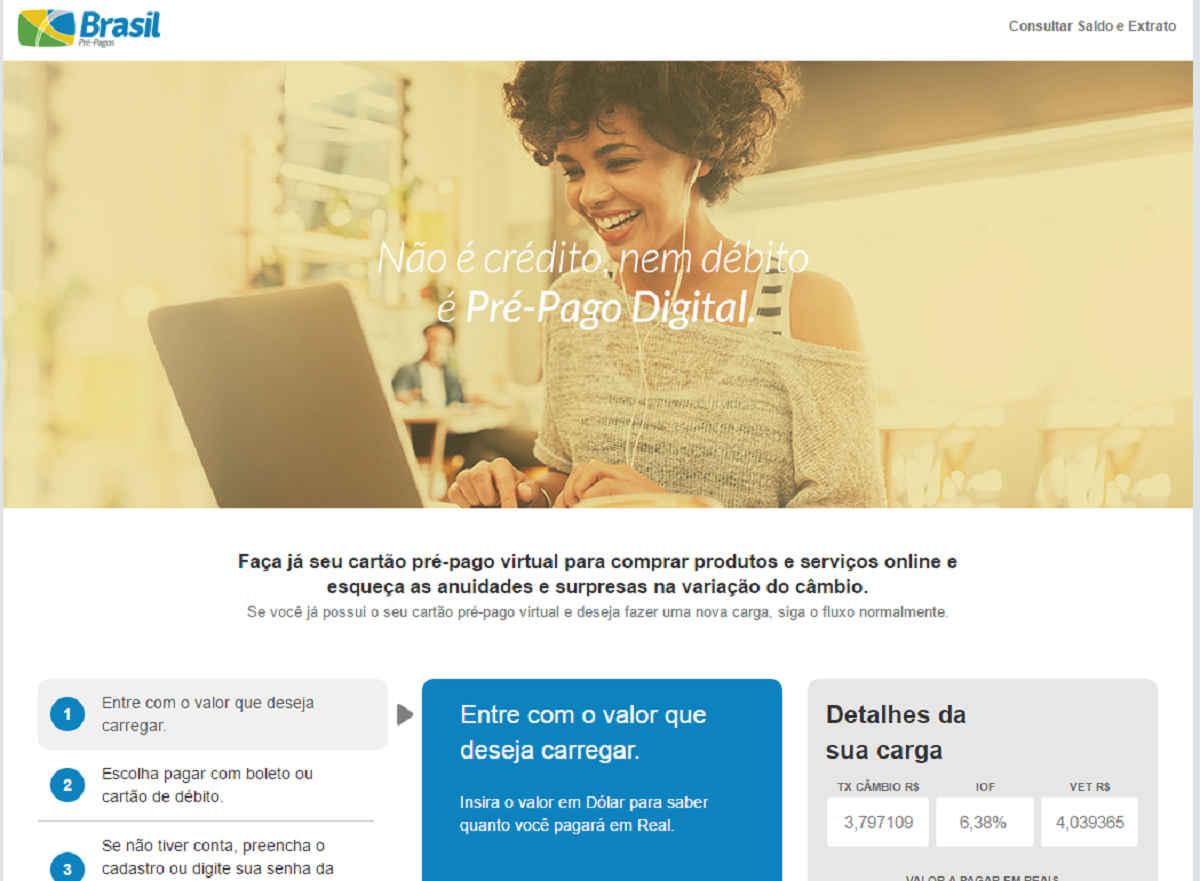 Cartão Pré-Pago BPP Digital