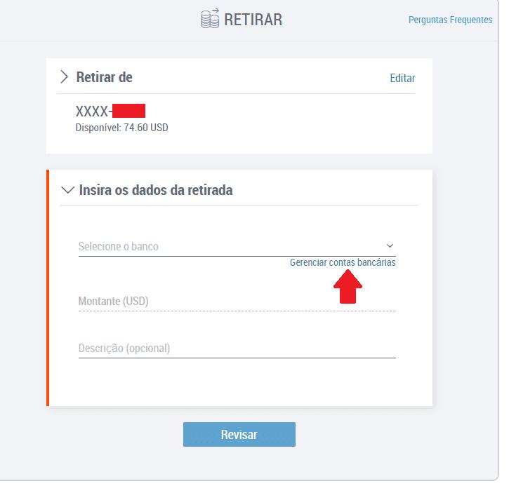 Payoneer sacar conta bancária Brasileira 2