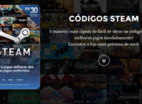 Cartão pré-pago Steam