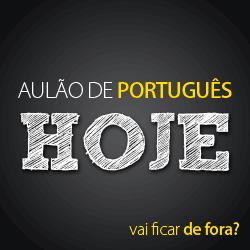 Webinario - Aulão de Português
