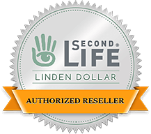 Virwox Authorized Linden Dollar Reseller pela Linden Lab